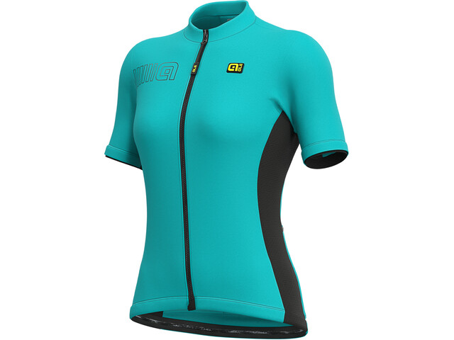 Alé Cycling Solid Color Block SS Jersey Women, Turquesa